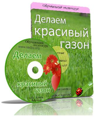 Видеокурс «Делаем красивый газон» скачать бесплатно торрент - Алина Рабушко и Николай Рабушко