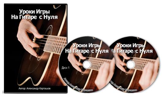 Видеокурс Уроки игры на гитаре c нуля скачать бесплатно торрент