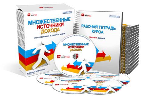 Скачать «Множественные источники дохода» бесплатно торрент - Роман Кожин