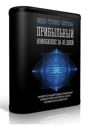 видео тренинг система Прибыльный инфобизнес за 45 дней скачать бесплатно торрент