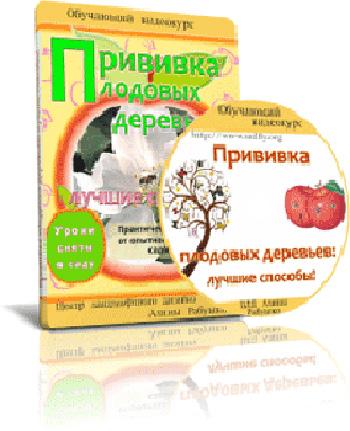 Видеокурс «Прививка плодовых деревьев: лучшие способы» скачать бесплатно торрент - Алина Рабушко и Николай Рабушко